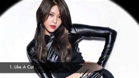 like a cat aoa hyejeong s like a cat 2nd mini album voice compilation