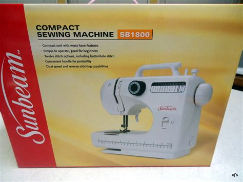 compact sewing machine sunbeam compact sewing machine sewing machines sergers