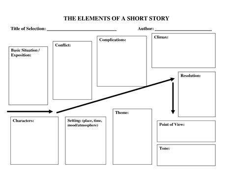 story template 6 best images of story diagram template plot