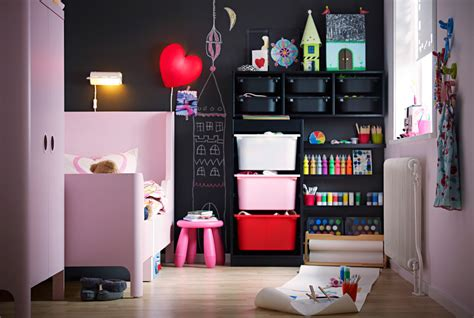 Mi Casa Decoracion Ikea Bedroom Storage A Bedroom That Makes Way For Creative Play Ikea