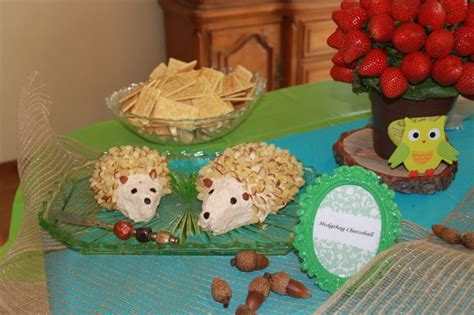 Woodland Themed Baby Shower Food by Woodland Themed Baby Shower Food Baby Showers