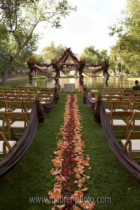 fall backyard wedding ideas 36 amazing fall outdoor wedding ideas on a budget