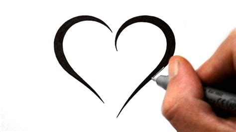 cool heart tattoo designs how to draw a simple tribal design 4