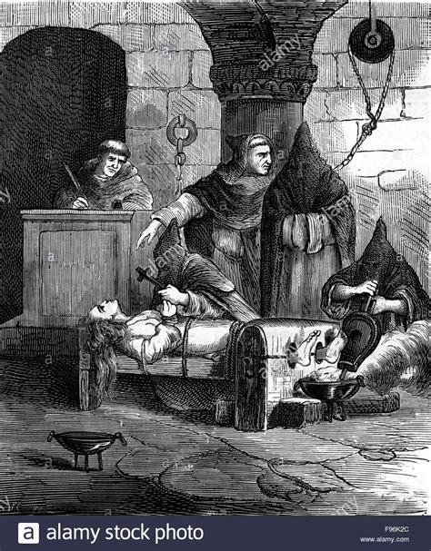 pain torture torture inquisition 1879 stock photo royalty free image