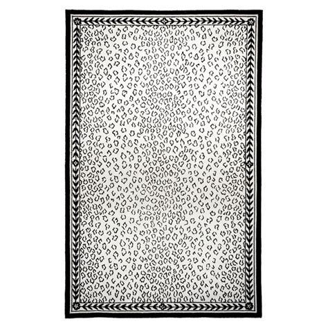 black and white leopard rug 14 best images about lovely leopard print on pointy flats zippers and metal frames