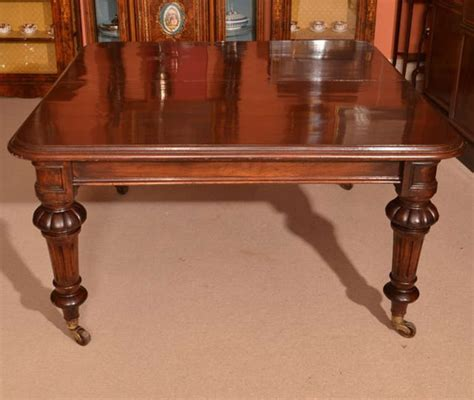 12 foot dining room table antique 12 foot victorian dining table circa 1860 and 14