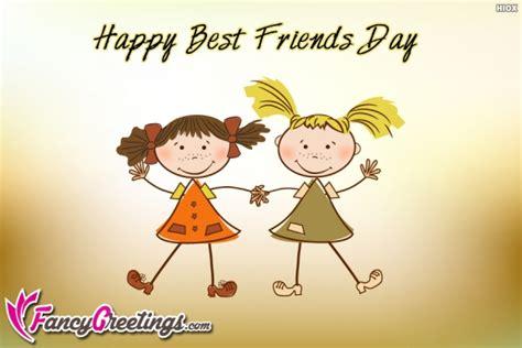best friends day happy best friends day