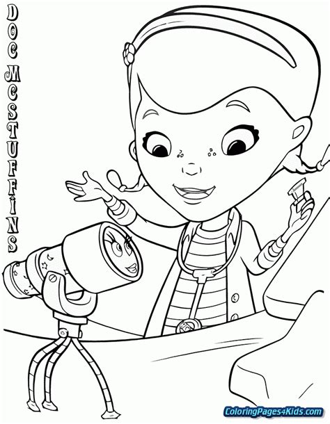 Doc Mcstuffins Coloring Pages Disney Junior by Disney Junior Coloring Pages Doc Mcstuffins Doc