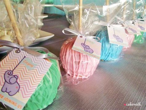Apple For Baby Shower Favors by Chocolate Covered Apples Favors And Apples On