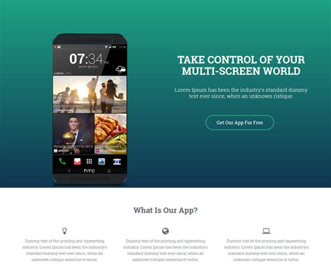 Applanding Bootstrap App Landing Page Template Bootstrap App Landing Page Template