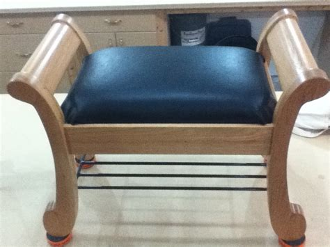 sleigh bench seat sleigh style bench finewoodworking