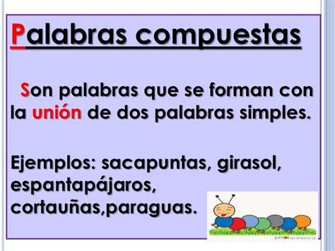 palabras compuestas para ninos en espanol palabras compuestas 72 1