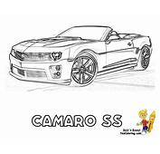 Muscle Cars Coloring Pages Free  Home