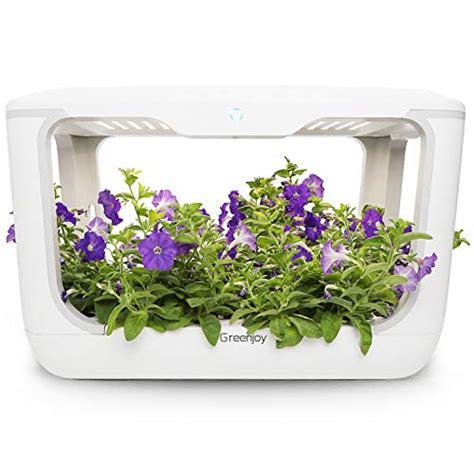 indoor herb garden kit hydroponics growing system plant