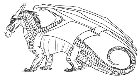 the gallery for gt wings of fire nightwing coloring pages