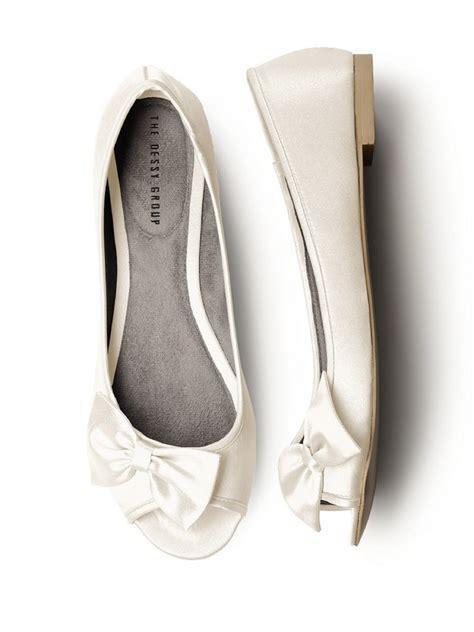 ivory flats wedding shoes stylish flat ivory wedding shoes for 4 n fashion