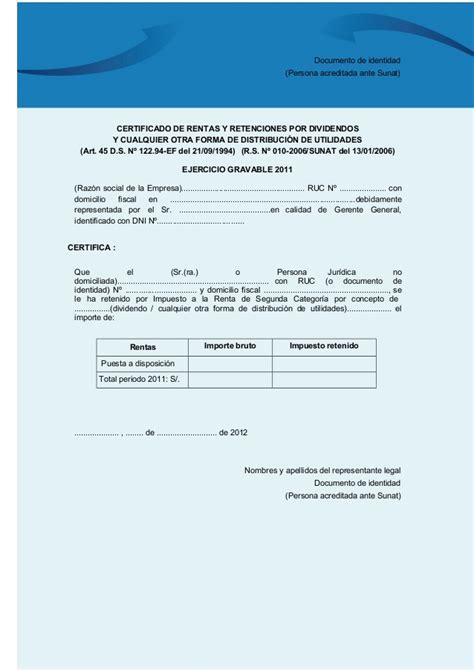 certificado rentas y retenciones no domiciliados modelo de certificado de retenciones2