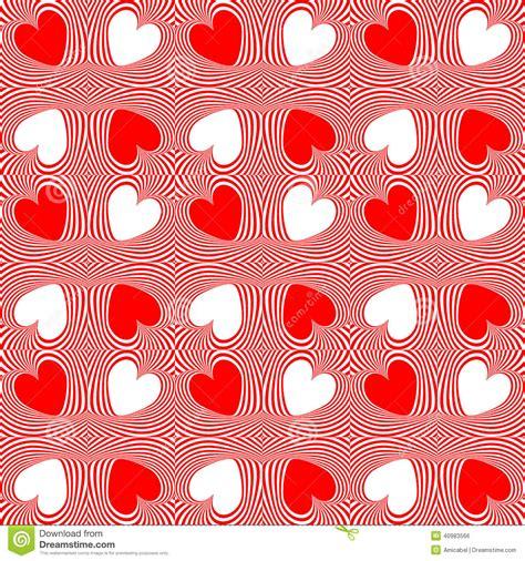 pattern art movement design seamless twirl movement heart pattern stock vector