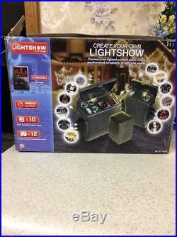 gemmy holiday lightshow with timer gemmy light show timer mp3 10 songs light controller decor world
