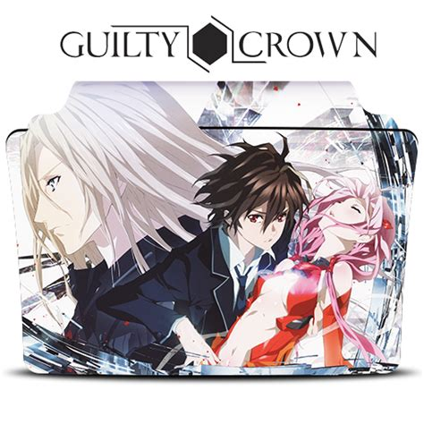 guilty crown anime icon by rizmannf on deviantart guilty crown icon folder by mohandor on deviantart