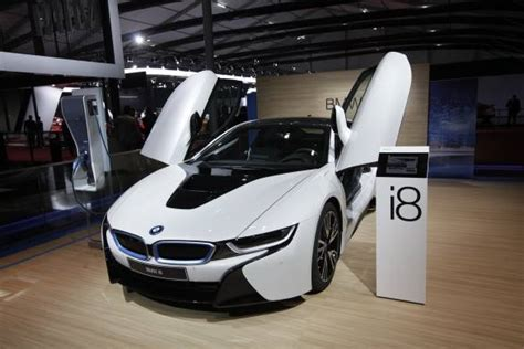 Bmw Sticker India by 2014 Auto Expo Bmw Unveils I8 Launch Later This Year