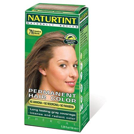 naturtint color naturtint permanent hair color 7n hazelnut