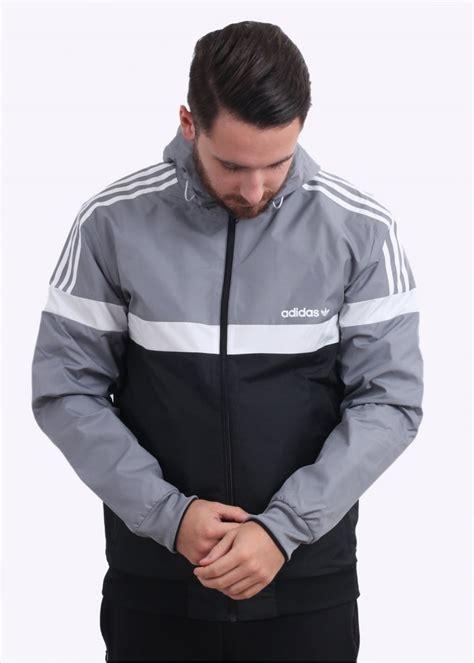 Jaket Armour Original 020 S M adidas originals apparel reversible windbreaker grey black jackets from triads uk