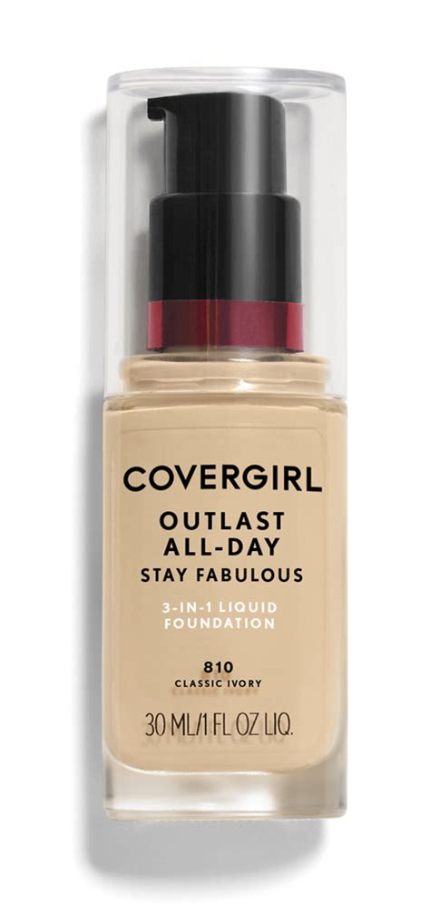 Covergirl Outlast Stay covergirl outlast stay fabulous 3 in 1 foundation