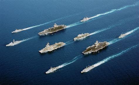 portaerei americane le portaerei americane tutte pronte tutte ferme