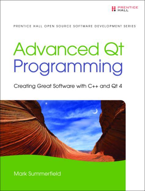 Qt Programming Book Download | advanced qt programming book