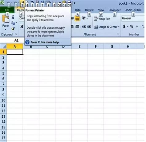 Format Painter Excel Quick Key | what is the shortcut key for format painter in excel 2010