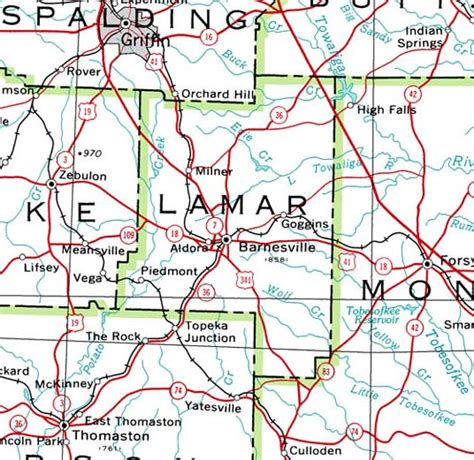 lamar county texas map georgiainfo