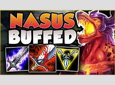 WTF! RIOT 100% GAVE TOO MUCH HEALING TO NASUS! LIFESTEAL ... Lifesteal Nasus