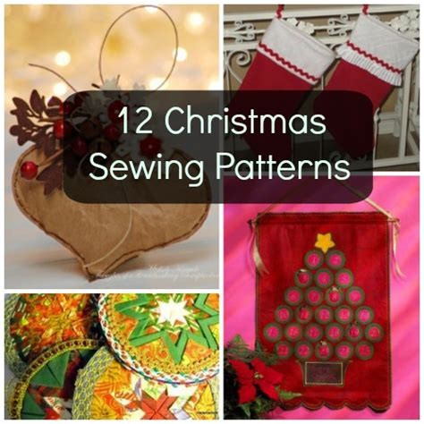 holly jolly preview 12 sewing patterns for christmas