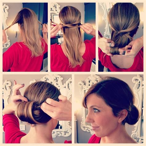 diy easy hairstyles step by step easy step by step updo diy hairstyle alldaychic