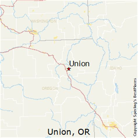 map of union oregon best places to live in union oregon