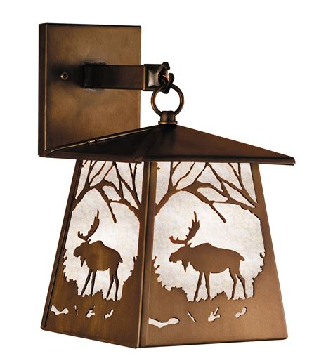 Hanging Wall Sconce Meyda 47472 Moose At Hanging Wall Sconce