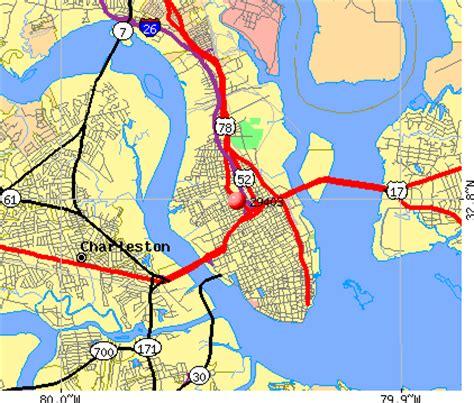 zip code map charleston sc charleston sc zip code map world map 07