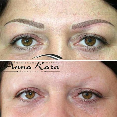 natural eyebrow tattoo eyebrow san diego permanent makeup by kara