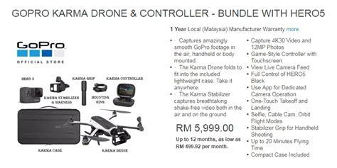 Drone Di Malaysia dapatkan gopro drone karma di malaysia