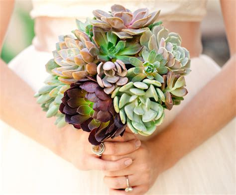 Wedding Bouquet With Succulents by Bouquets Archives Say I Do Succulents