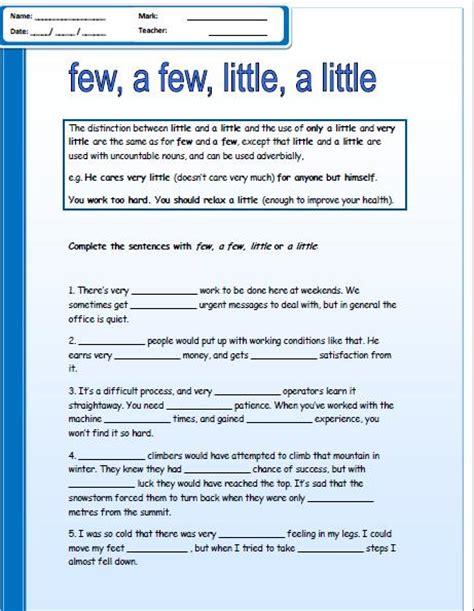 Resume Quantifiers Reading Vocabulary Worksheets Abitlikethis