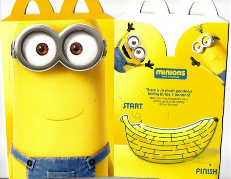 Minion Happy Meal Mcdonald Cards mcdonald s happy meal box australia minions june 2015 flickr