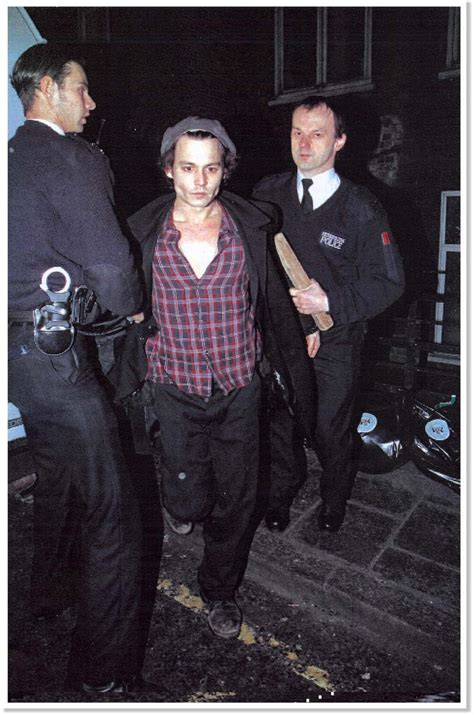 anthony fox viper room johnny depp being arrested mugshot hairstyles