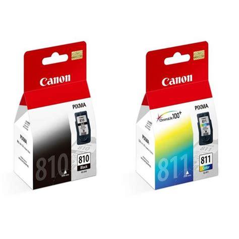 Cartridge Canon Pg 811 canon pg 810 cl 811 ink cartridge combo bundle value pack