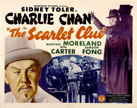 the scarlet clue 1945 full movie charlie chan posters wrong side of the art