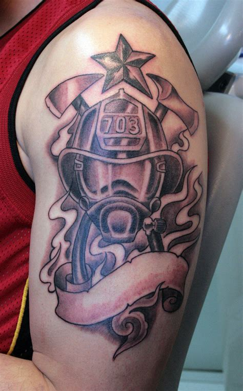 firefighter tattoos 3d tattoo new