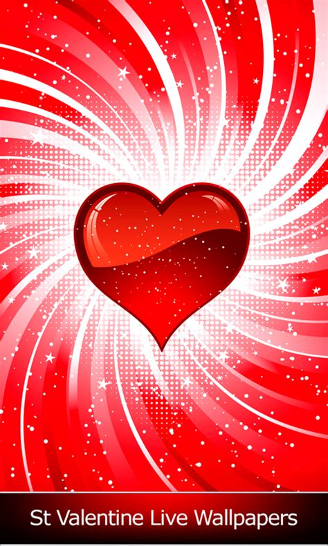 St Valentine Live Wallpapers free android app   Android