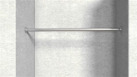 montageanleitung edelstahl garderobenstange mit flansch