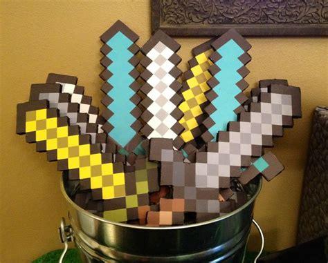 Handmade Minecraft - minecraft sword minecraft and swords on